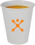 8oz White Paper Cups